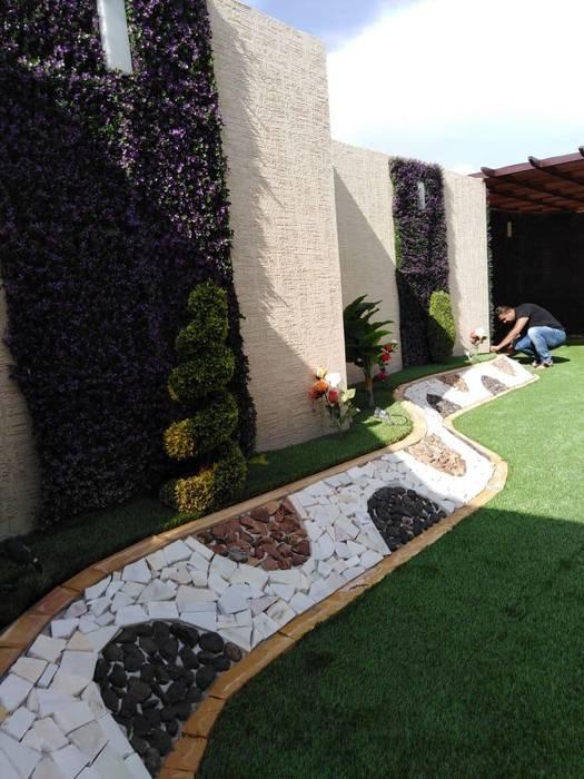 تصميم حدائق باشكال مختلفة :  حديقة تنفيذ تنسيق الحدائق , كلاسيكي
