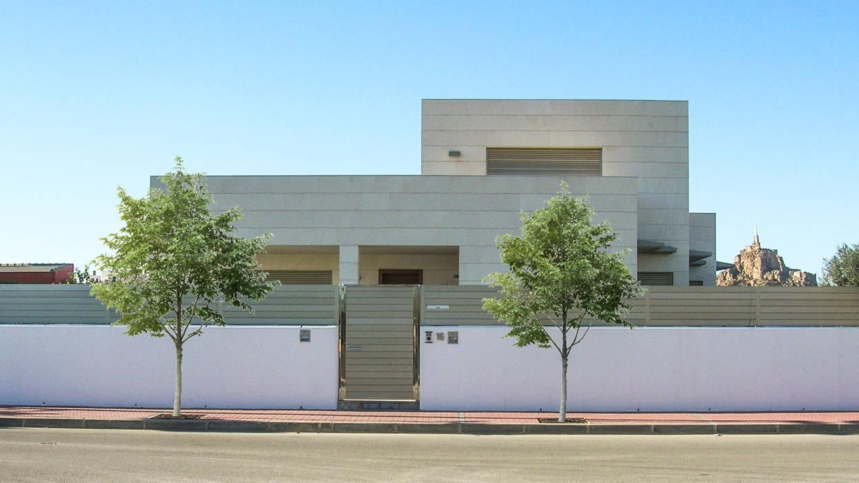 Vivienda en Puente Tocinos: Casas de estilo  de Albaladejo Arquitectos