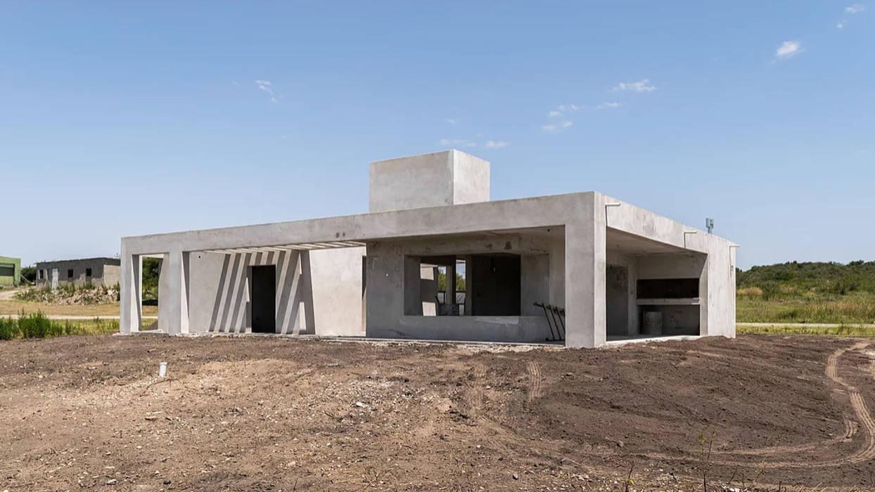 บ้านเดี่ยว โดย 1.61 Arquitectos, มินิมัล