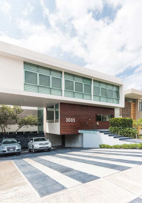 CASA  NEO : Condominios de estilo  por TaAG Arquitectura