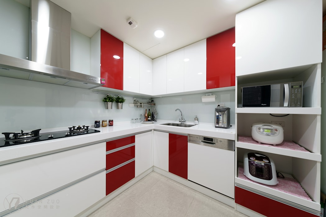 系統廚具 根據 元作空間設計 現代風