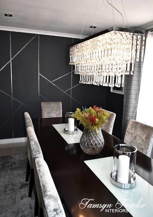 Dining in style Tamsyn Fowler Interiors Modern dining room