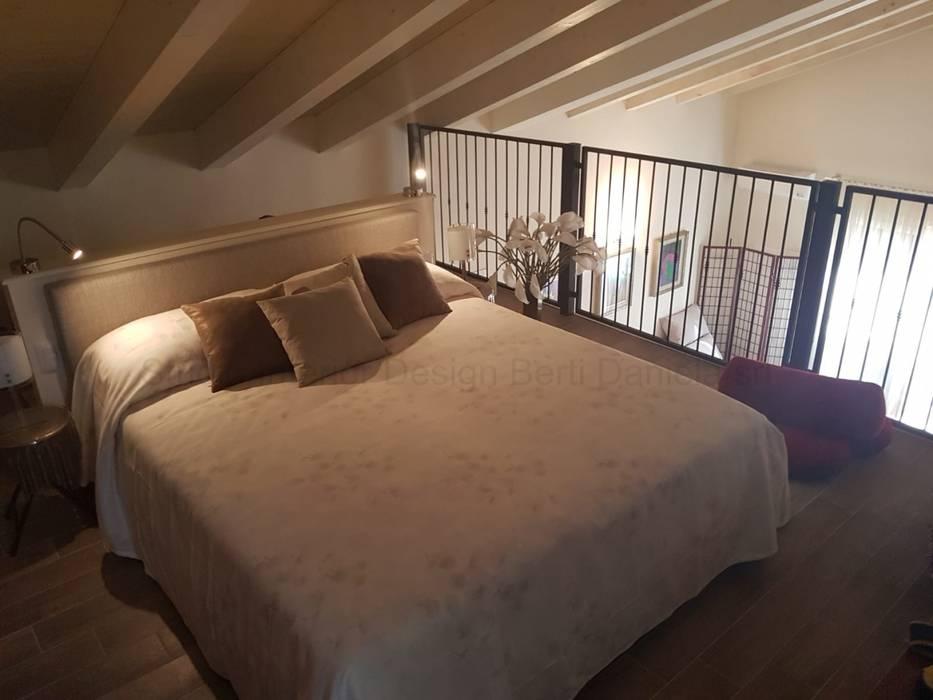 Arredamento villa con mansarda a bologna camera da letto in ...