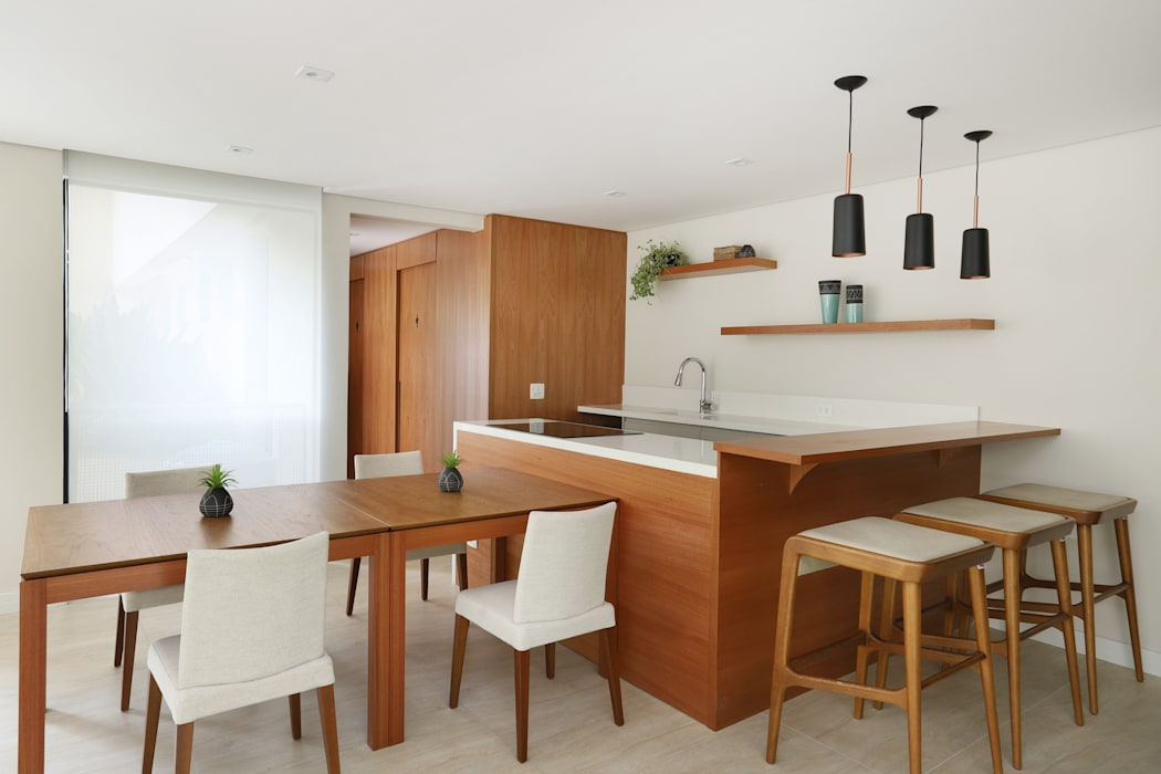 by Mirá Arquitetura Modern Wood Wood effect