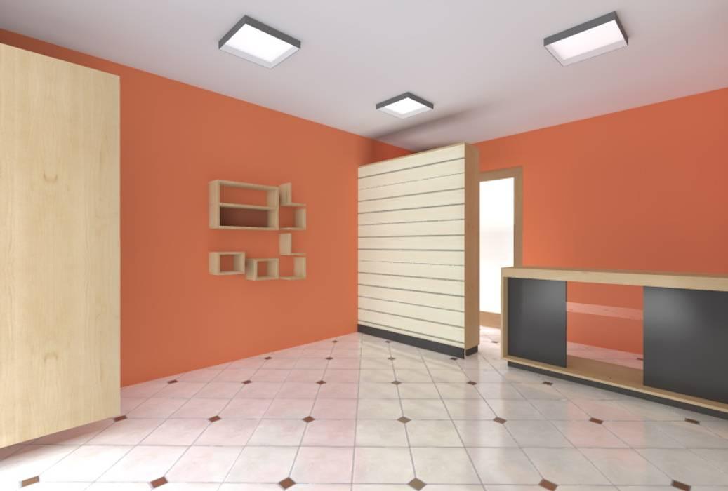 Propuesta  3D: Oficinas y Tiendas de estilo  por ARDI Arquitectura y servicios, Minimalista Aglomerado