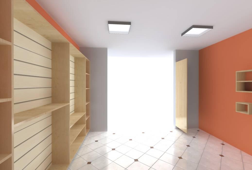 Diseño 3D: Oficinas y Tiendas de estilo  por ARDI Arquitectura y servicios