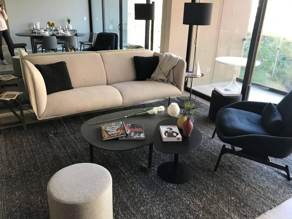 Modern Oturma Odası VillaSi Construcciones Modern