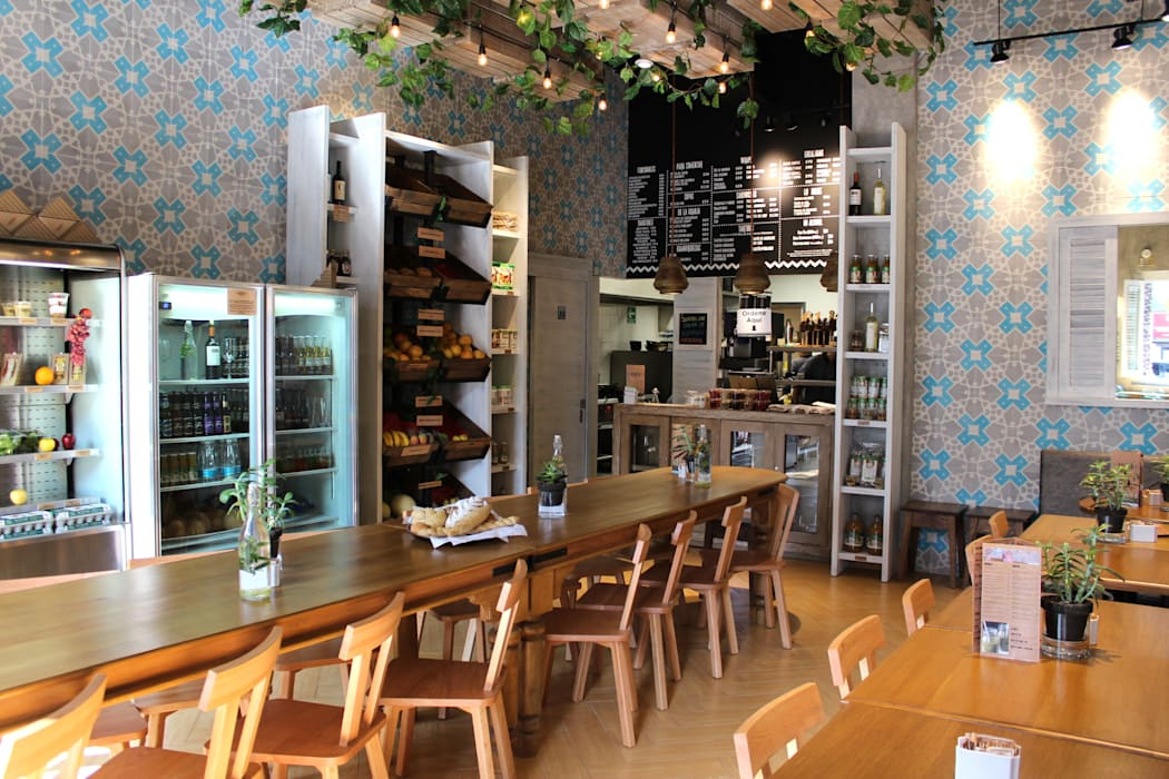 Mediterranean style dining room by GAIA Mediterranean