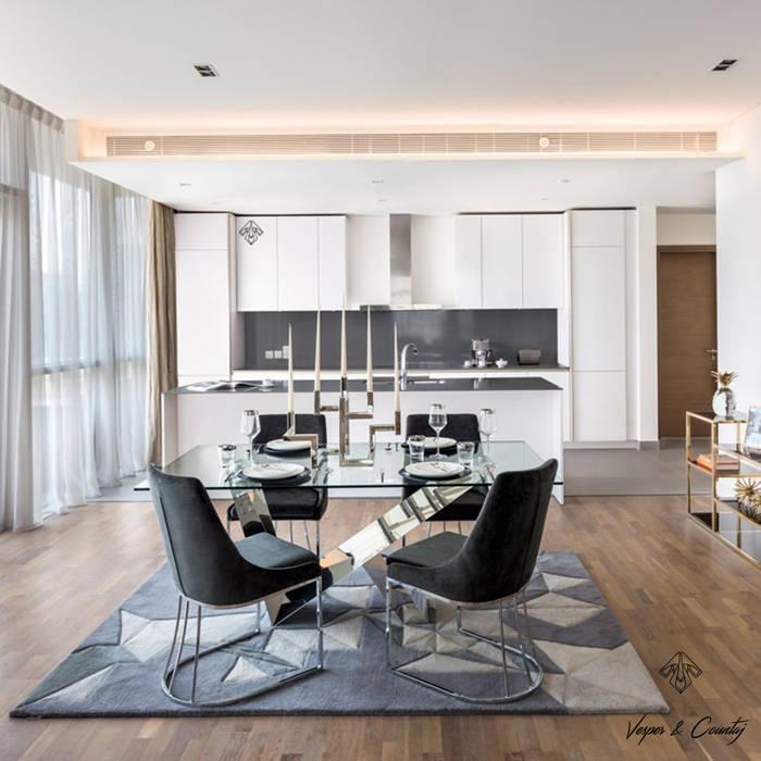 Cocina de diseño italiano para apartamentos de lujo en dubái ...