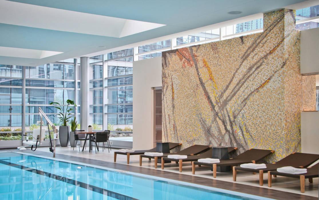 Moderne Geschäftsräume & Stores von Aquacolors / Moretti A&D Modern