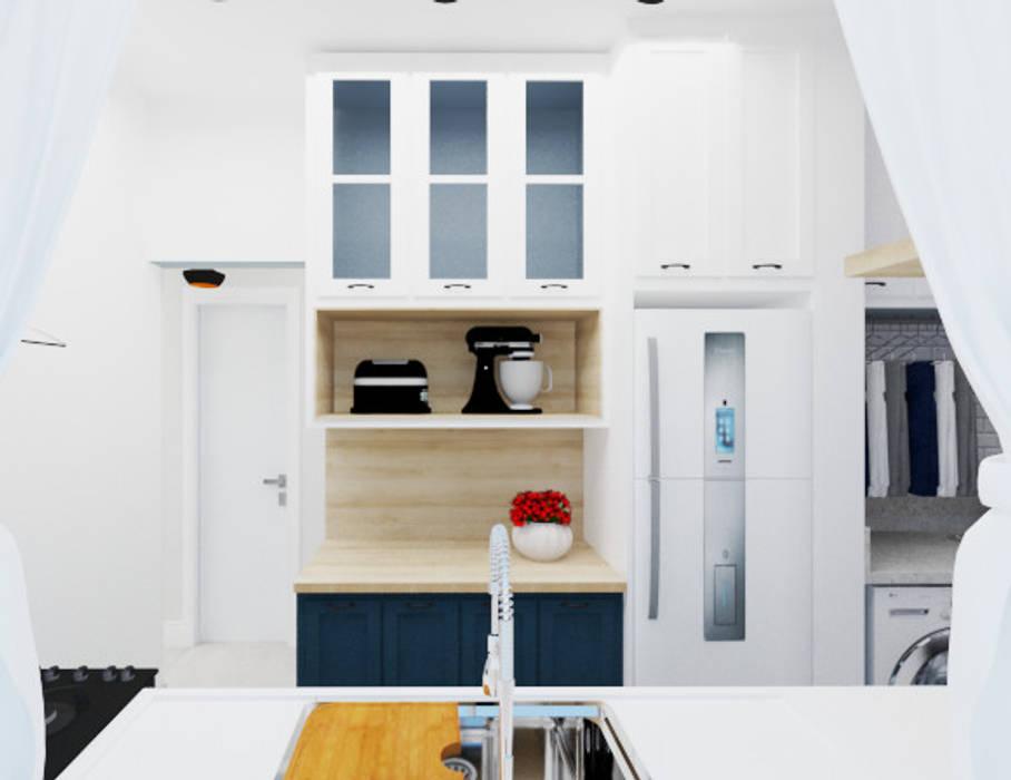 Cozinha estilo Provençal por Aline Mozzer Arquitetura Clássico MDF