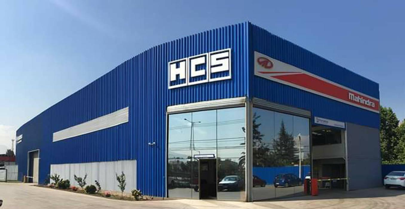 Servicio Automotriz HCS de Fercap Construcciones Moderno Aluminio/Cinc