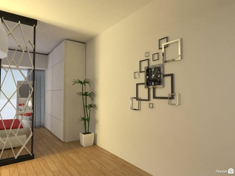 Monoambiente - Recoleta: Pasillos y recibidores de estilo  por Arquimundo 3g - Diseño de Interiores - Ciudad de Buenos Aires