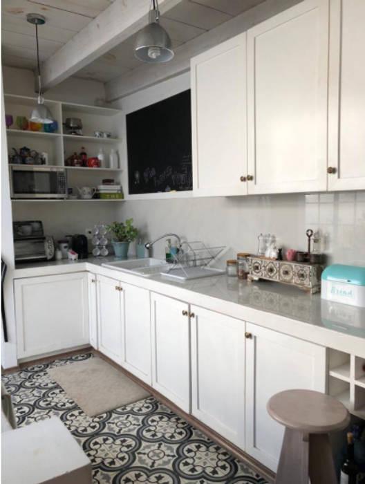 Cocina: cocinas pequeñas de estilo por la tachuela interiorísmo ...