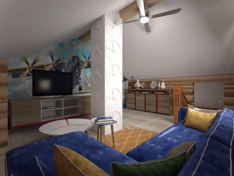 студия Виталии Романовской Living room