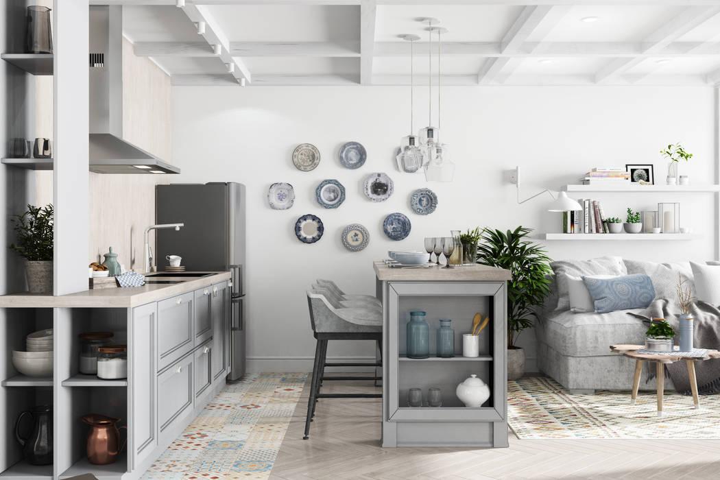 Küche von Дизайн Студия Katushhha, Landhaus