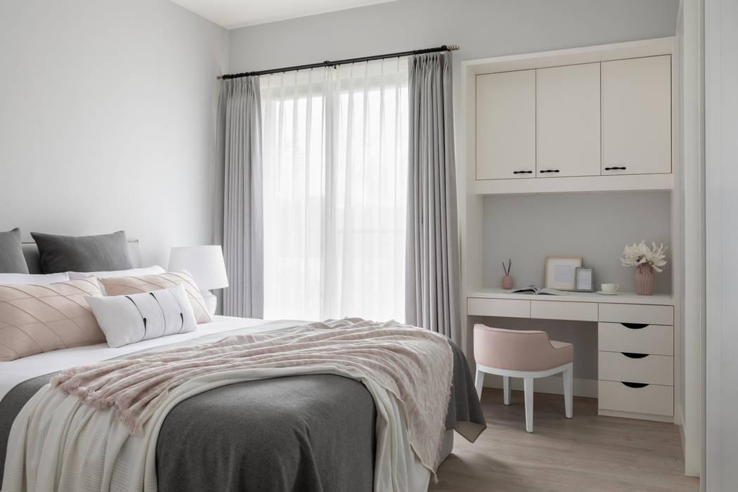 主臥室:  臥室 by 存果空間設計有限公司