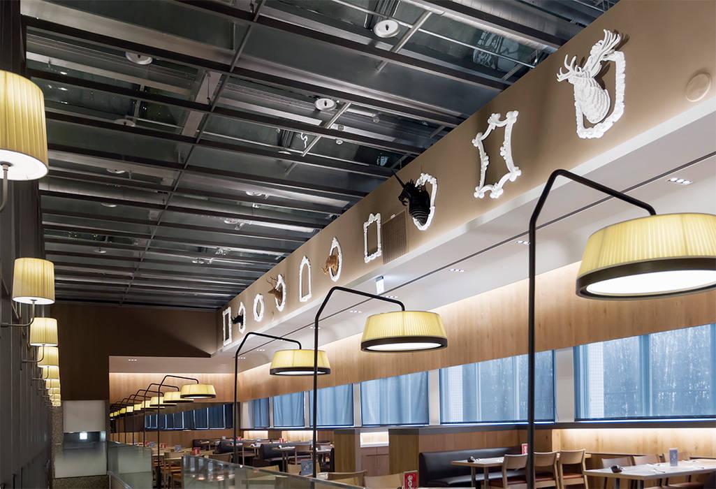 饗食天堂中壢店 伊歐室內裝修設計有限公司 餐廳