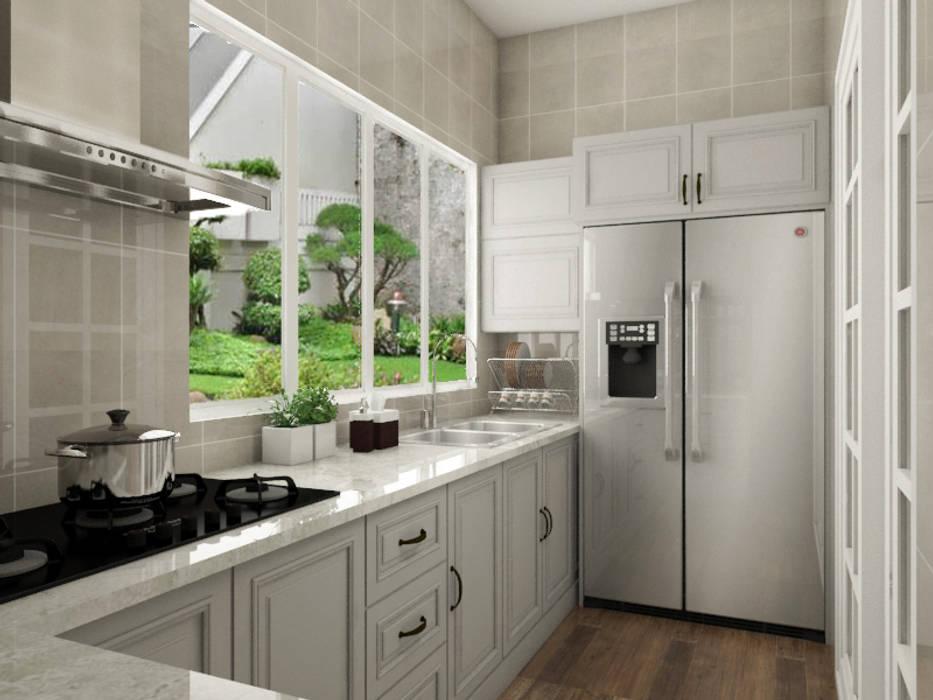 Kitchen Set Dapur Klasik Oleh PT. Leeyaqat Karya Pratama Klasik