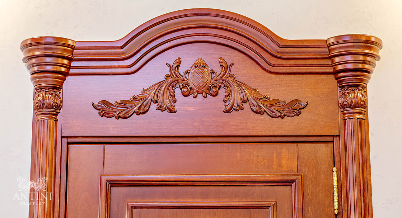 Wooden doors by Antini Interior,