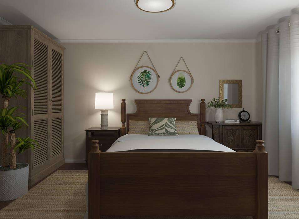 Dormitorio 2: Dormitorios de estilo  de Glancing Eye