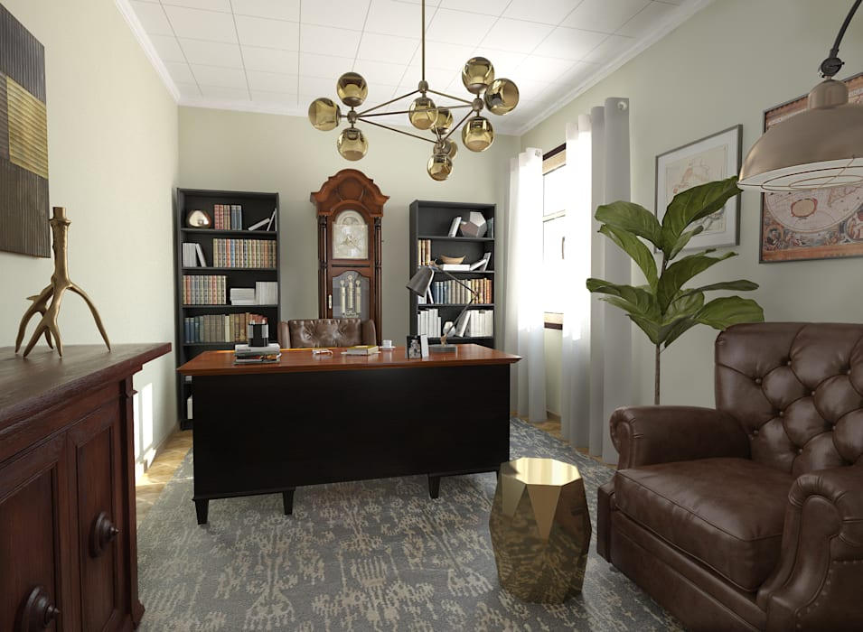 Despacho: Estudios y despachos de estilo  de Glancing Eye