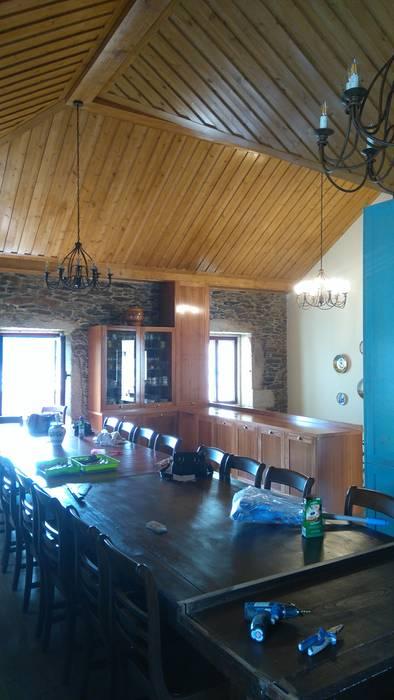 Renovação Espaço Rústico: Cozinhas  por Home Recover
