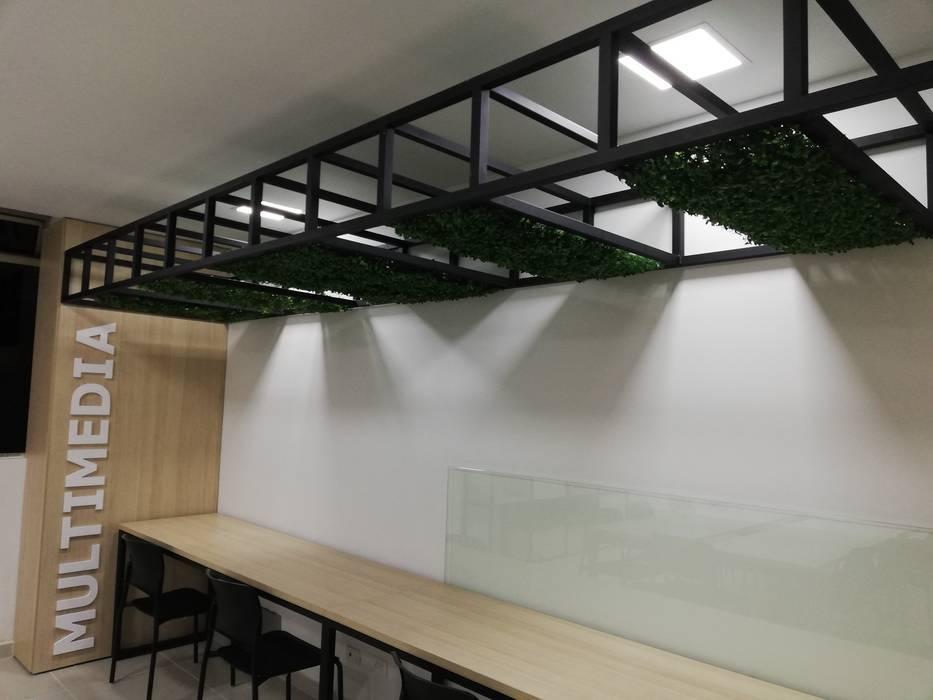 Zona multimedia Estudios y despachos de estilo moderno de Decó ambientes a la medida Moderno