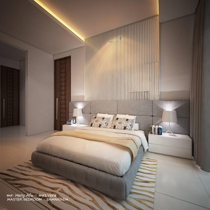AFU HOUSE Kamar Tidur Modern Oleh midun and partners architect Modern
