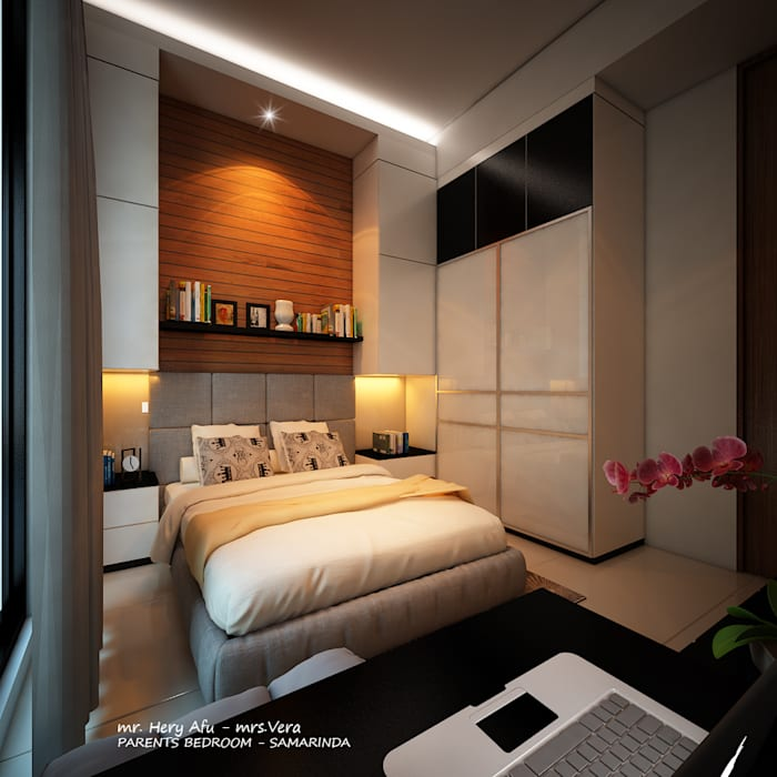 Bedroom by midun and partners architect, Modern