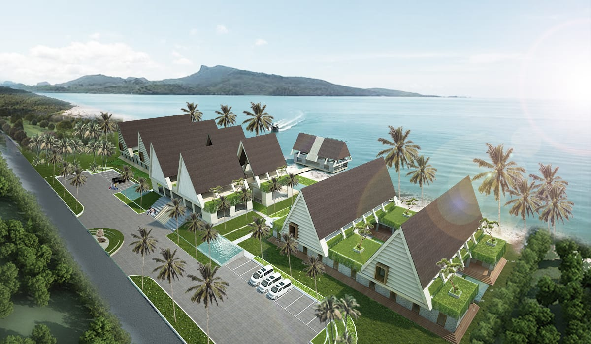 REHOSULAT NUSA BATUTU RESORT HOTEL: Hotels oleh midun and partners architect,