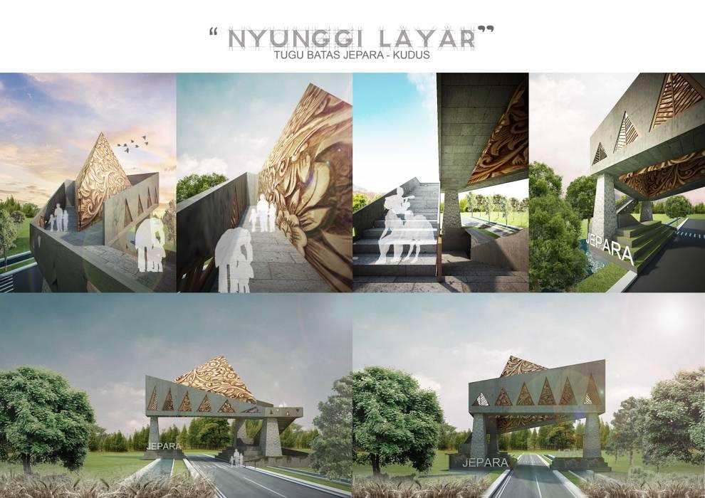 Jardines de invierno de estilo  por midun and partners architect,