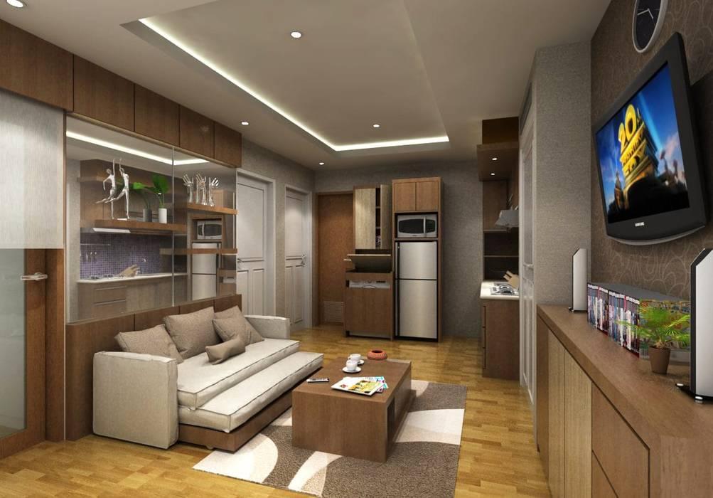Ruang tamu: Ruang Keluarga oleh Maxx Details,