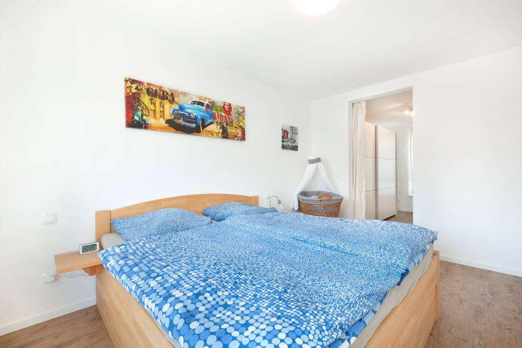 Schlafzimmer mit ankleide moderne schlafzimmer von talbau ...