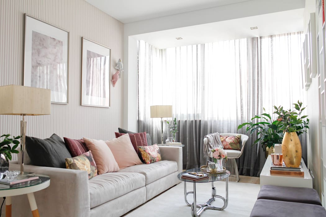 Modern Living Room by Rita Salgueiro - Full Ideas Modern