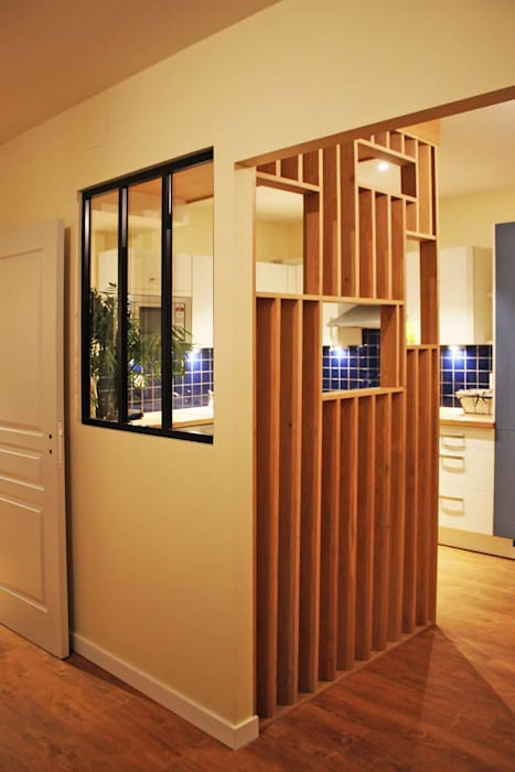 Agence ADI-HOME Dapur Modern Parket Blue