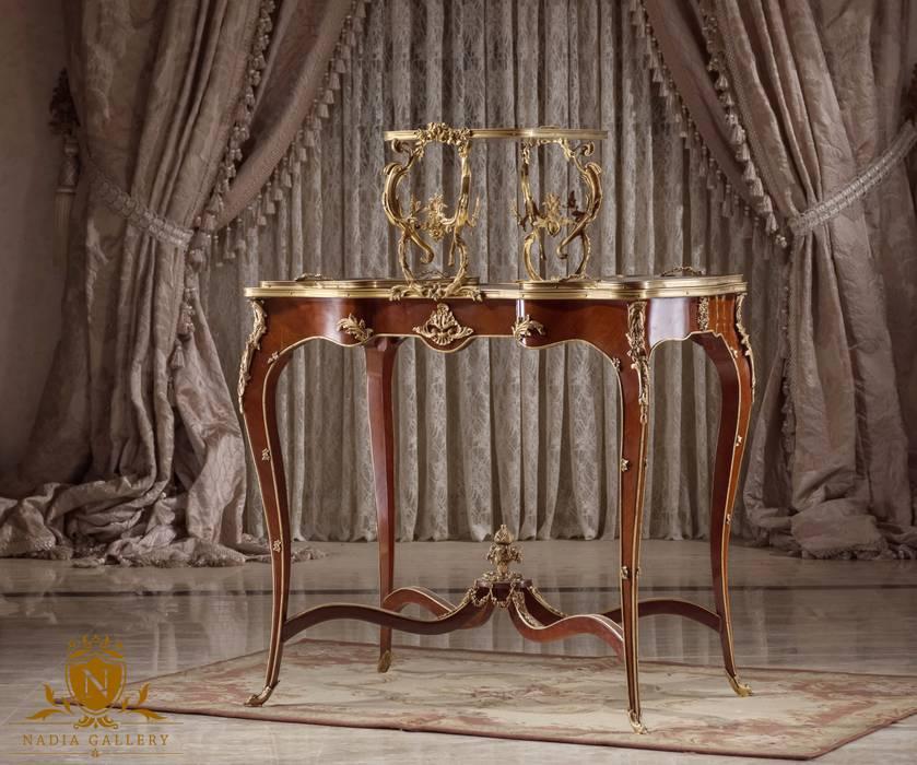 Side coffee table with two trays:  غرفة السفرة تنفيذ NADIA .Gallery