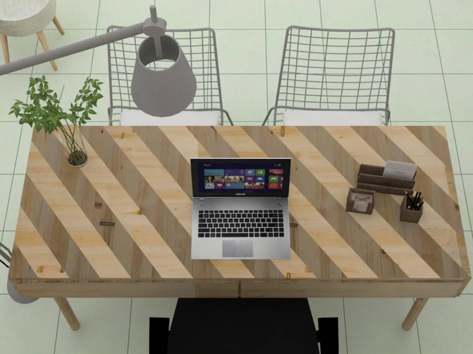 Oficina FRUCAN Estudios y despachos de estilo ecléctico de Decó ambientes a la medida Ecléctico