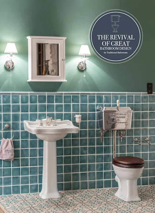 Badezimmer nostalgisch: badezimmer von traditional bathrooms ...