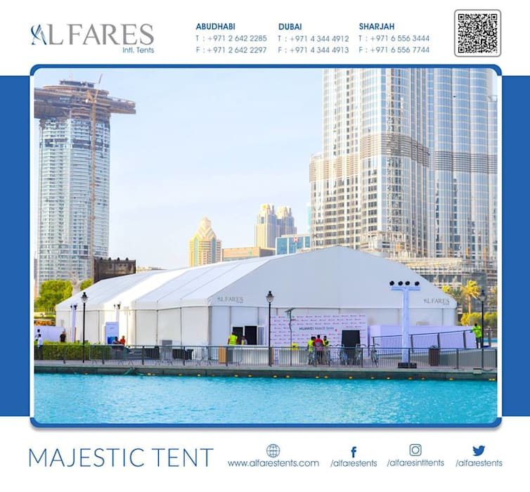 Tents, Event marquees, Temporary structures | Al Fares International Tents, Dubai, Abu Dhabi, Sharjah, Riyadh by AL FARES INTERNATIONAL TENTS Asian Aluminium/Zinc