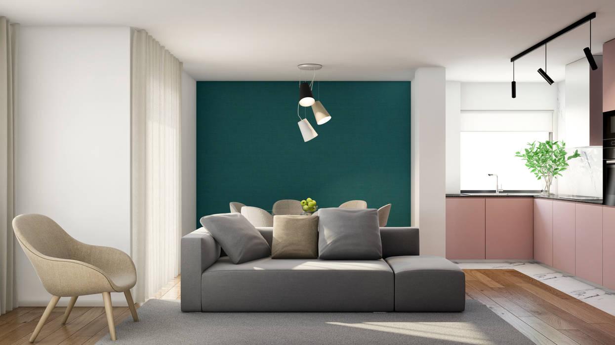 Living room by Alma Braguesa Furniture , Scandinavian