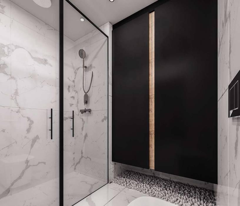 VERO CONCEPT MİMARLIK – Marina Residence - Ebeveyn Banyo:  tarz Banyo