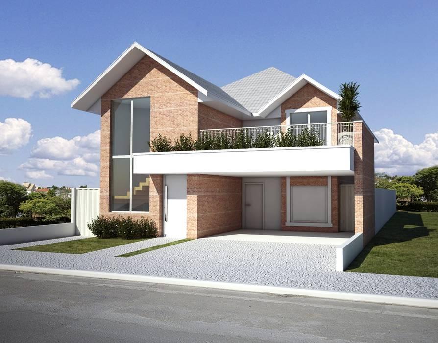 CASA TULE: Casas  por Lozí - Projeto e Obra,Moderno