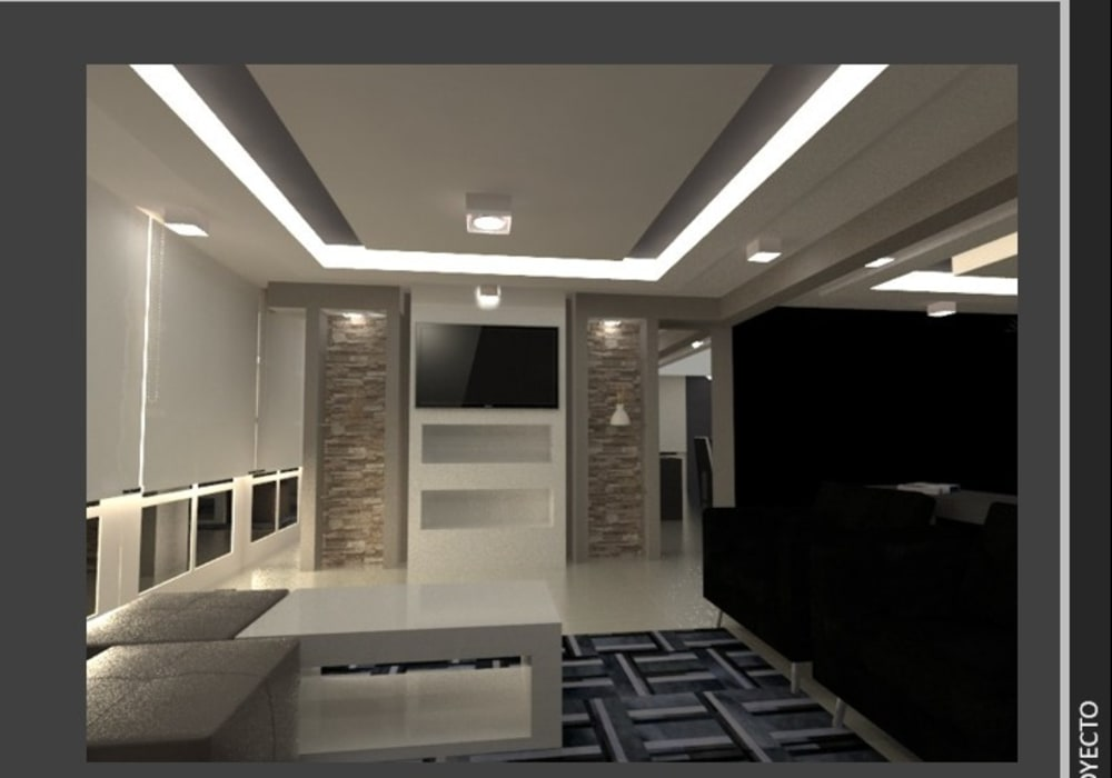 Casa Atizapan : Salas de estilo  por Arq. Vianey Pineda