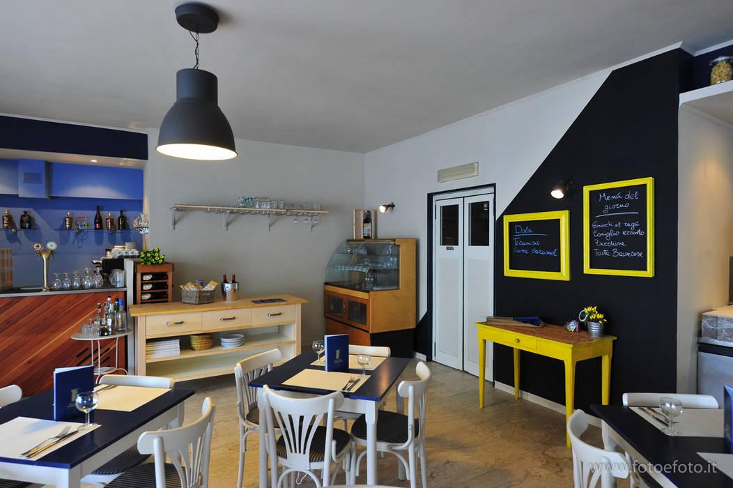 Ristorante - dopo: Sala da pranzo in stile  di Antonella Petrangeli