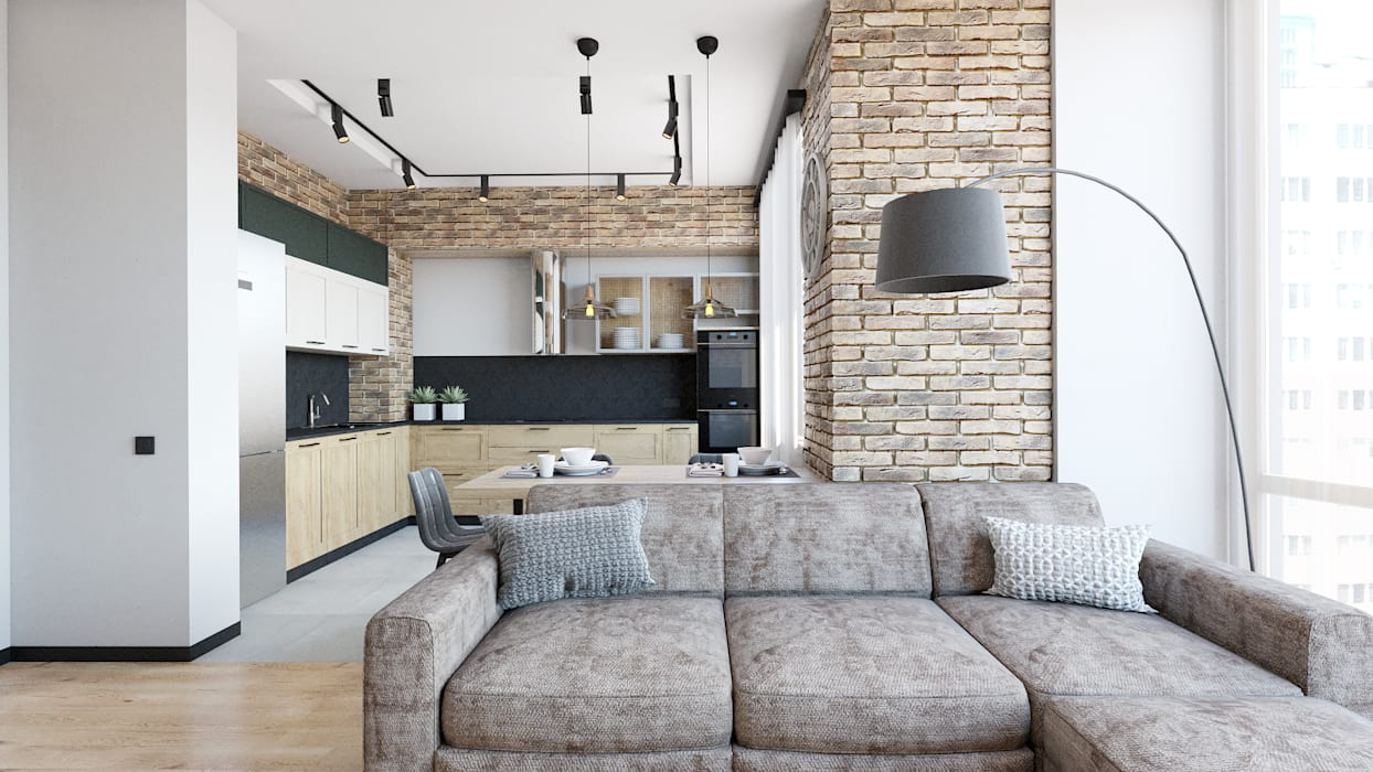 Loft:  Вбудовані кухні by IL Interior