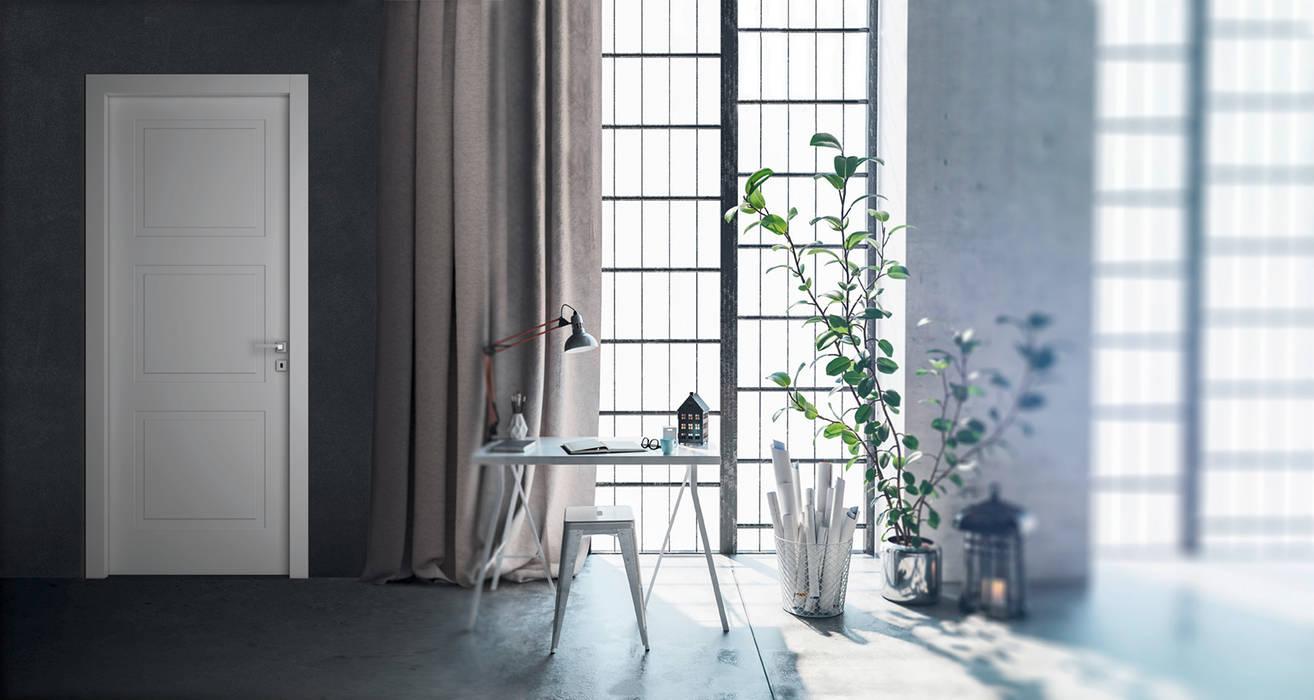 Puertas interiores de estilo  por AM PORTE SAS