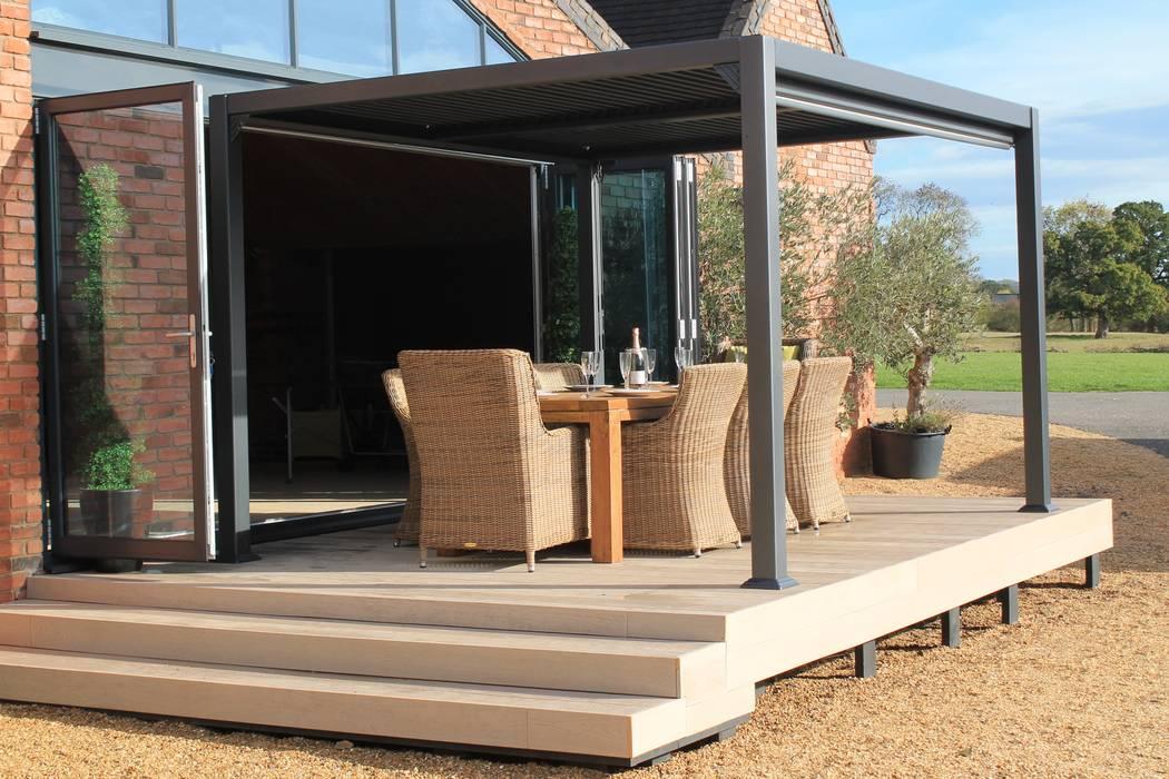 Galaxy Gazebo Jardines de estilo moderno de Garden Furniture Centre Moderno