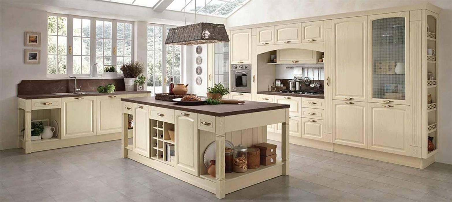 Cucina mida stile shabby e provenzale moderno: cucina ...