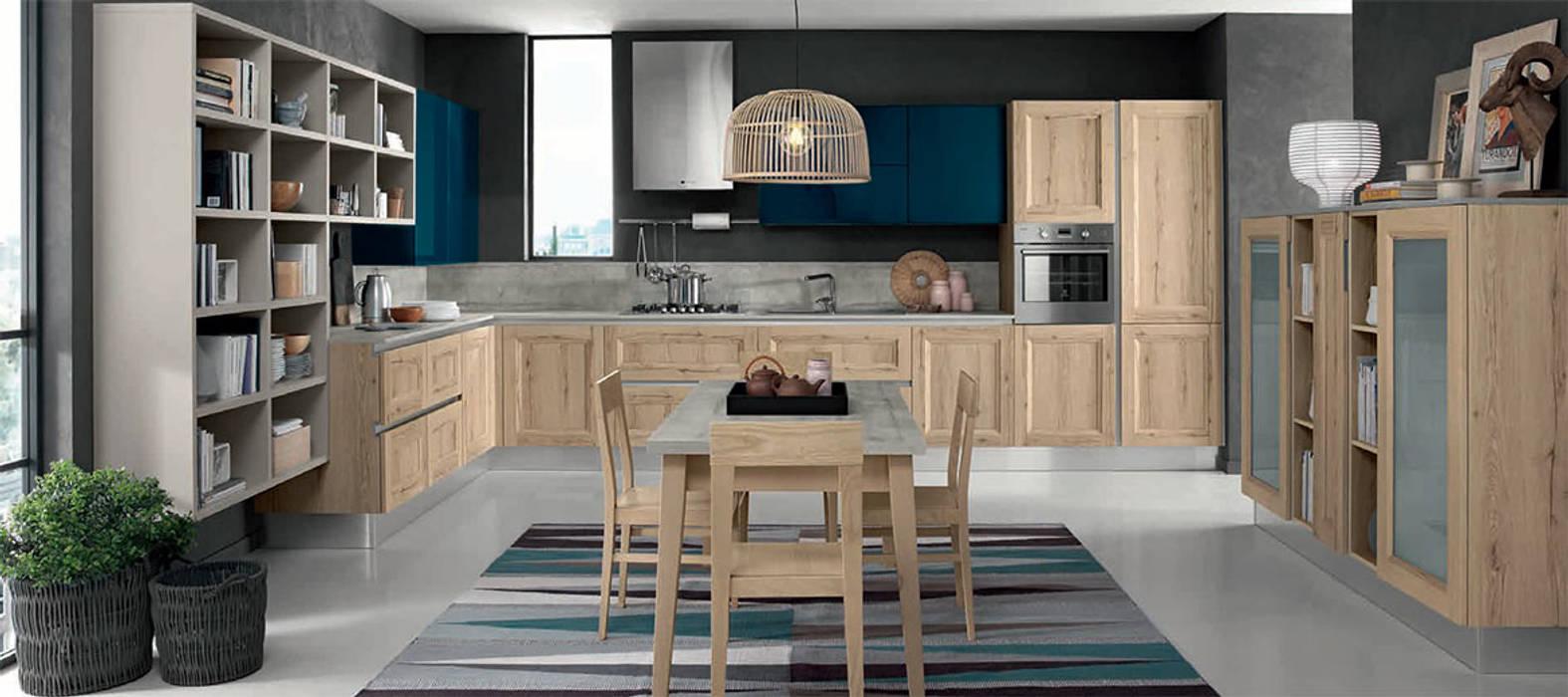 Cucina Talea: Cucina attrezzata in stile  di nuovimondi di Flli Unia snc